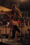 Amanda Clarke at Austin's Coffee & Film