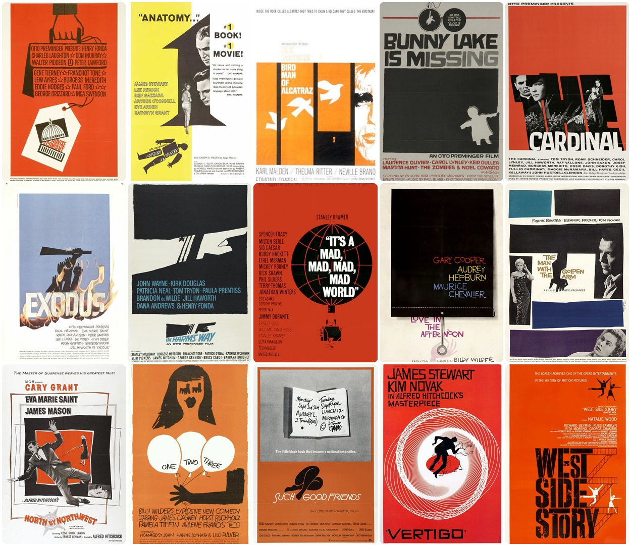 Movie Poster Fun Time with Saul Bass | AmyCanWrite: Amy ...