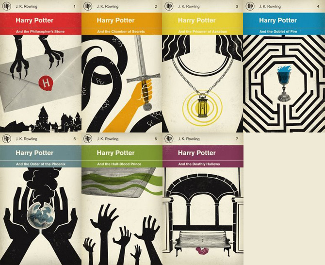 Harry Potter Book Cover Design ~ Moved permanently